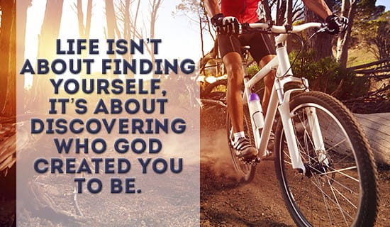 It's all about who GOD created YOU to BE ecard, online card