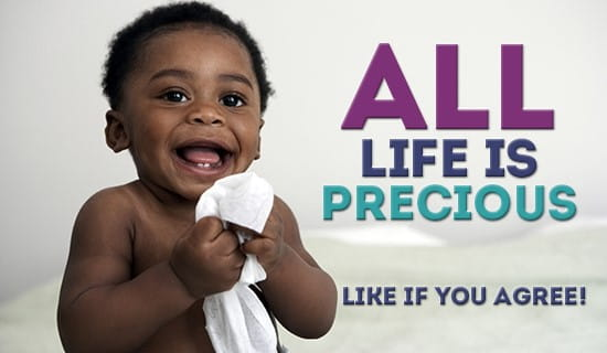 All life is Precious! ecard, online card