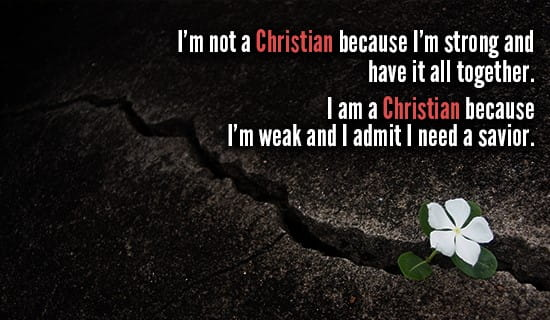 I am a Christian! ecard, online card