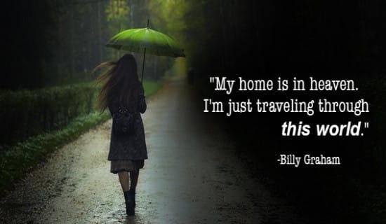 My Home is in Heaven ecard, online card