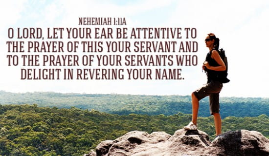 Nehemiah 1:11a ecard, online card