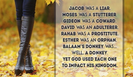How can God use you to impact His Kingdom? ecard, online card