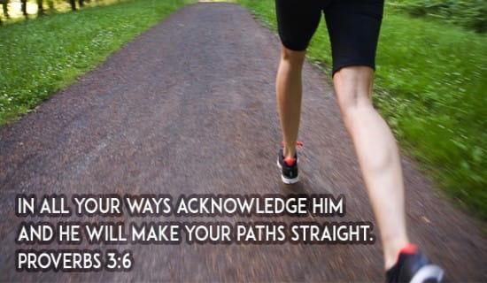 Proverbs 3:6 ecard, online card
