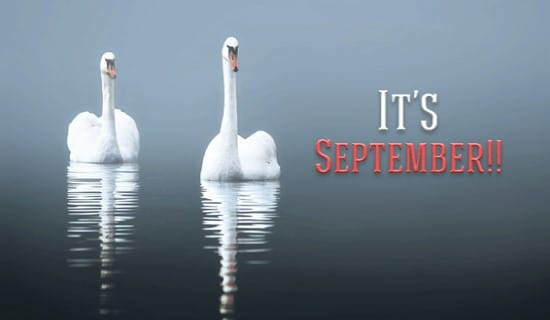 It's September! ecard, online card