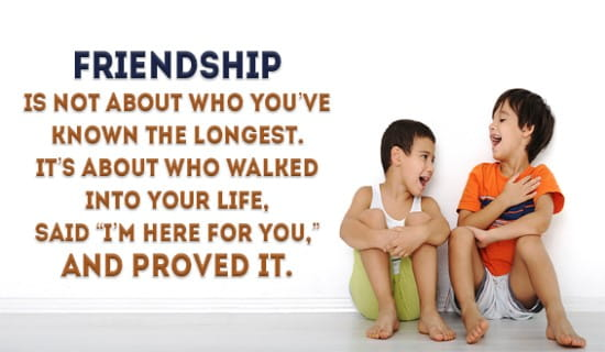 Friendship is.... ecard, online card