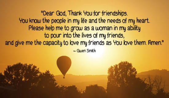 Thank you for my friends and the others in my life! ecard, online card