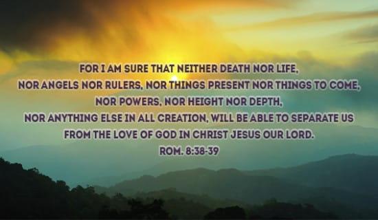 Romans 8:38-39 ecard, online card