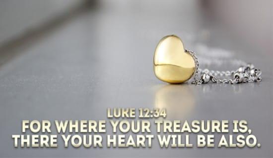 Luke 12:24 ecard, online card