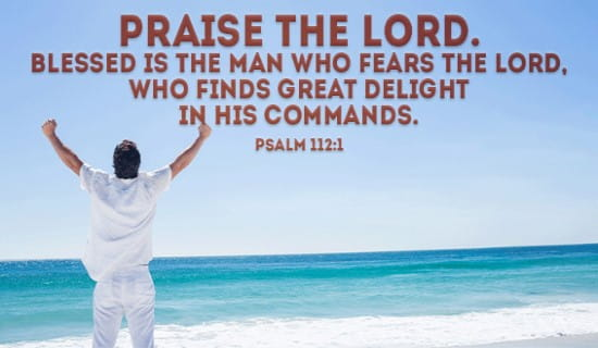 Psalm 112:1 ecard, online card