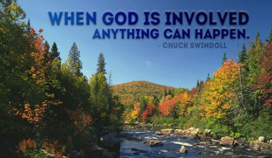 With God, Anything Can Happen ecard, online card