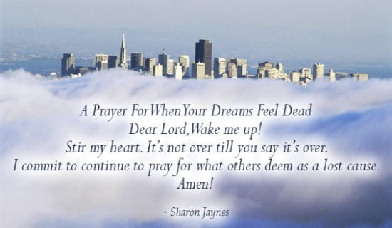 A Prayer for When your Dreams Feel Dead ecard, online card