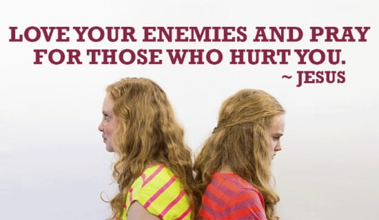 Love your Enemies ecard, online card