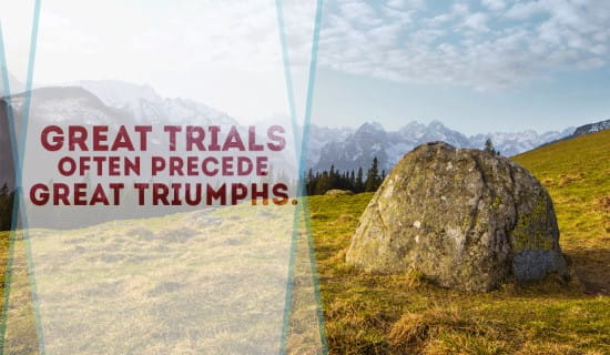 Trials then Triumphs ecard, online card