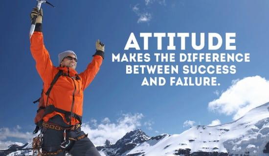 Attitude ecard, online card