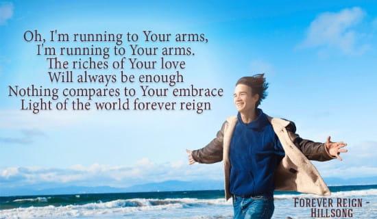 Forever Reign - Hillsong ecard, online card