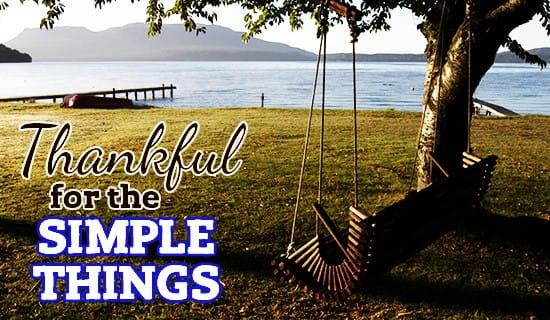 Simple Things ecard, online card