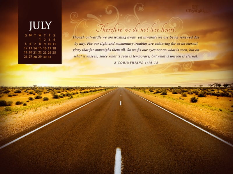 calendar month of july 2015