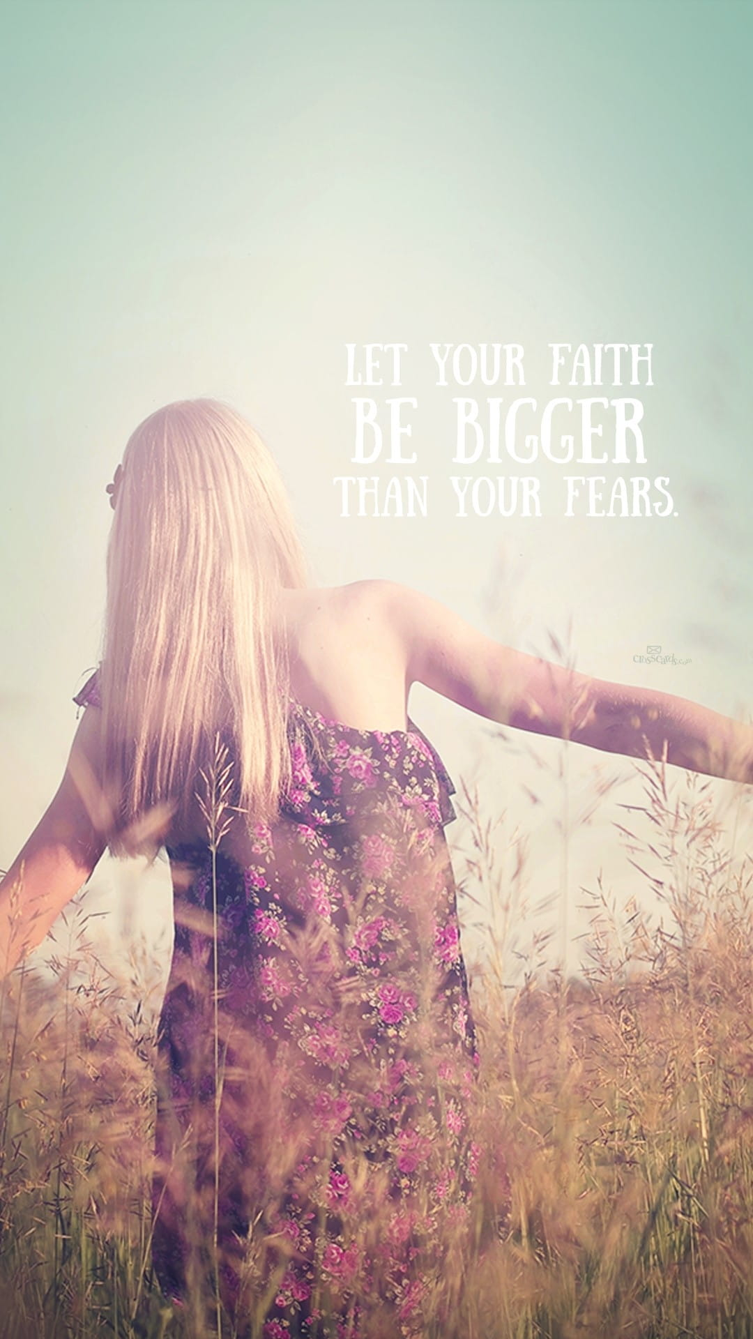 Faith Bigger Than Fears Desktop Wallpaper