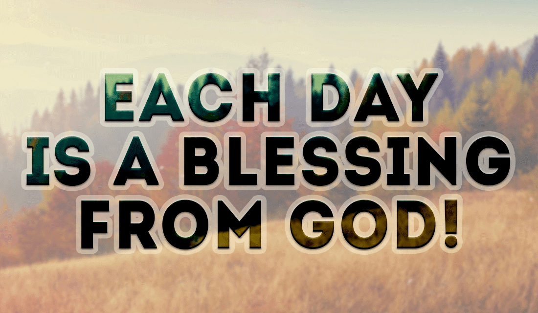 Each Day is a Blessing ecard, online card