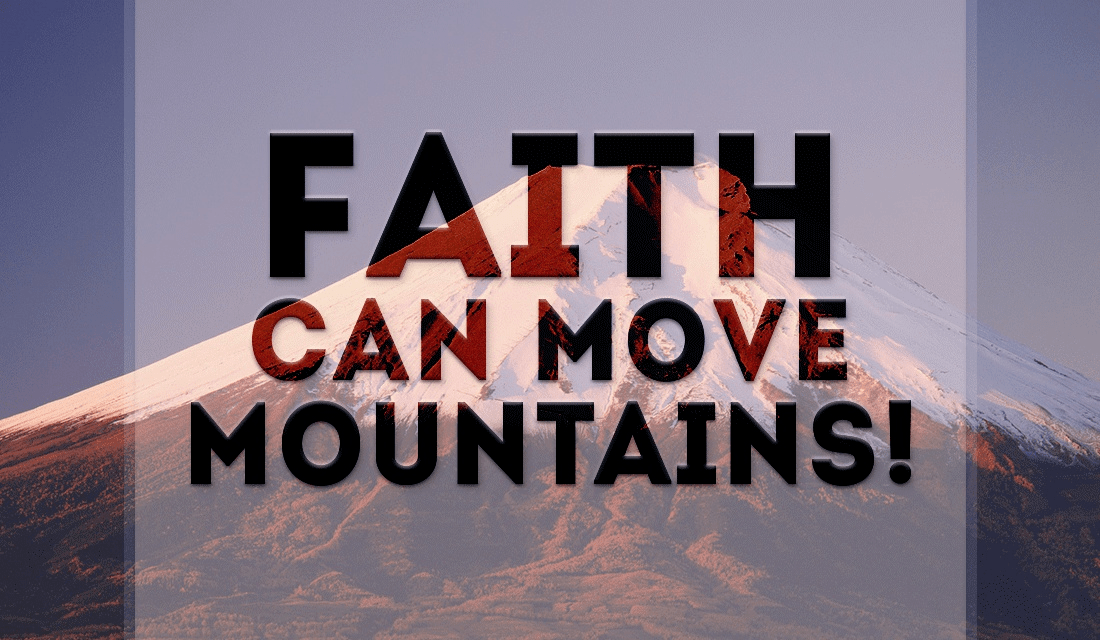 Faith can move Mountains ecard, online card