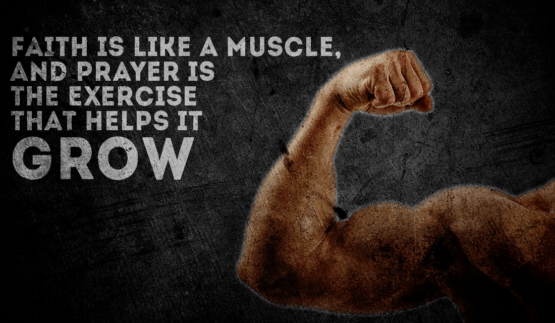 Faith is a Muscle ecard, online card