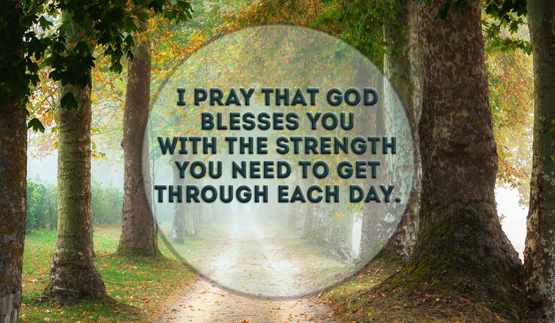 Prayer for God's Blessing ecard, online card