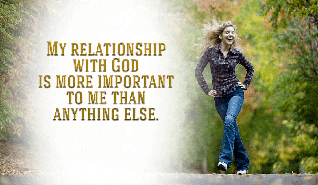 My relationship with God ecard, online card