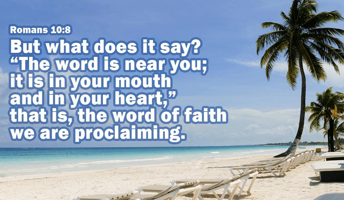 Romans 10:8 ecard, online card