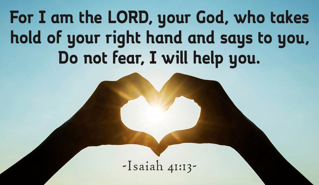 Isaiah 41:13 ecard, online card