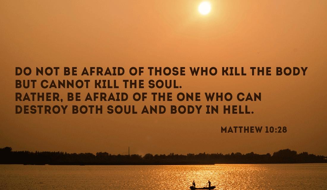 Matthew 10:28 ecard, online card