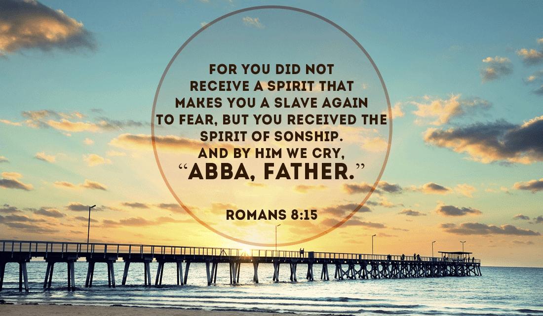 Romans 8:15 ecard, online card