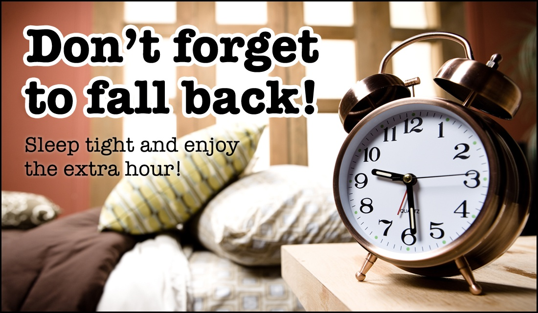 Don't Forget to Fall Back!  ecard, online card