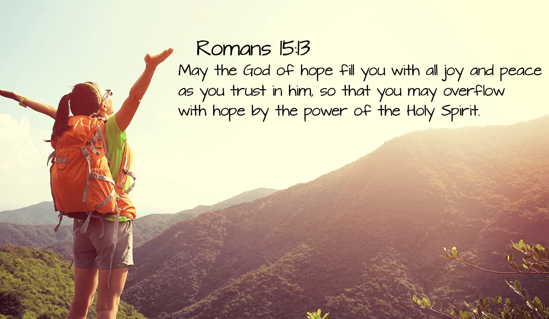 May God fill ALL of you with joy on this wonderful day! -Romans 15:13 ecard, online card