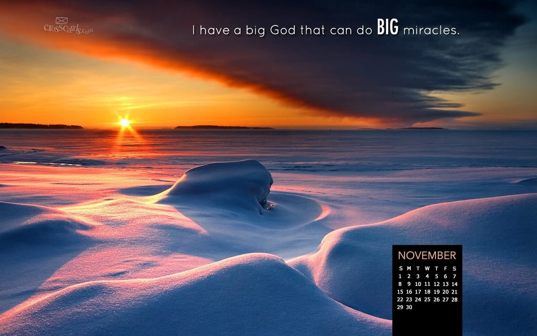 November 2015 - Big God mobile phone wallpaper