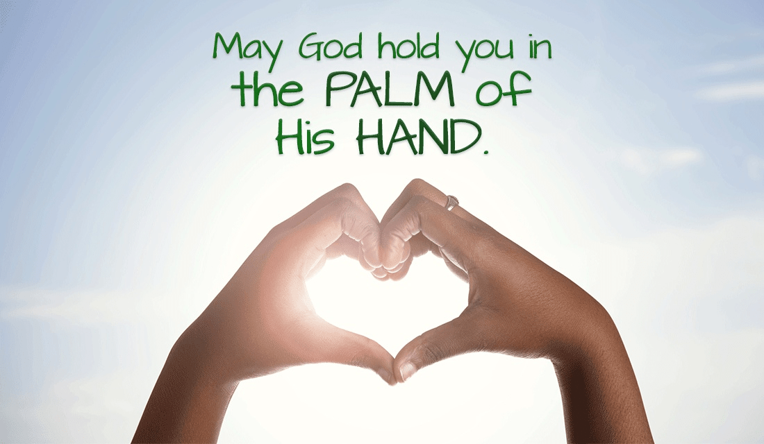 We are always safe when God is watching out for us! ecard, online card