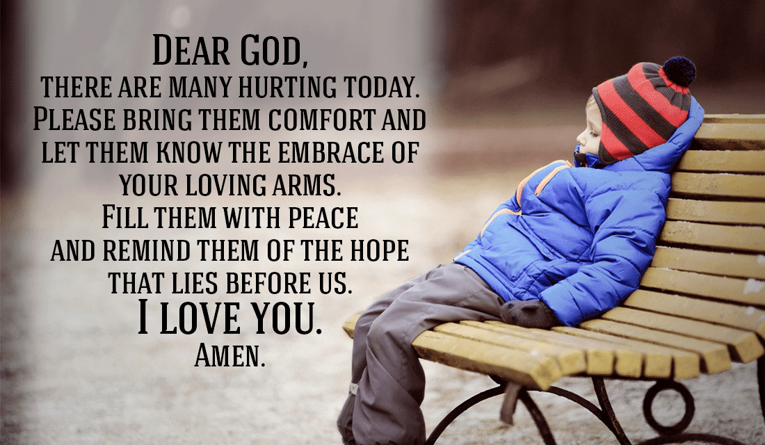 Lord, Even though many people hurt, please help them get to your Peace ecard, online card