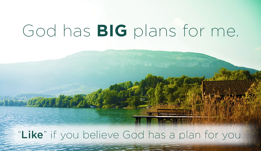 He has big plans for me, and He has big plans for YOU TOO! ecard, online card