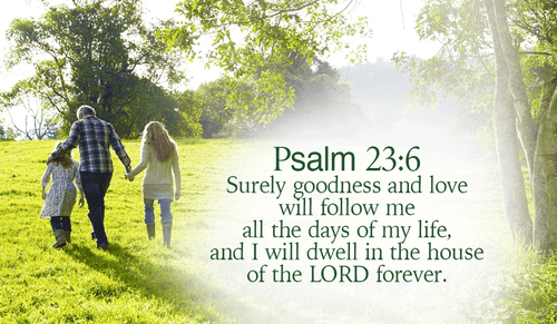 Psalm 23 - NIV Bible - The LORD is my shepherd, I lack nothing  He