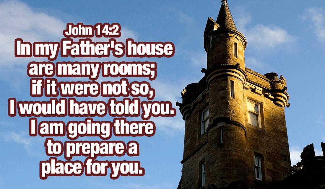 John 14:2 ecard, online card