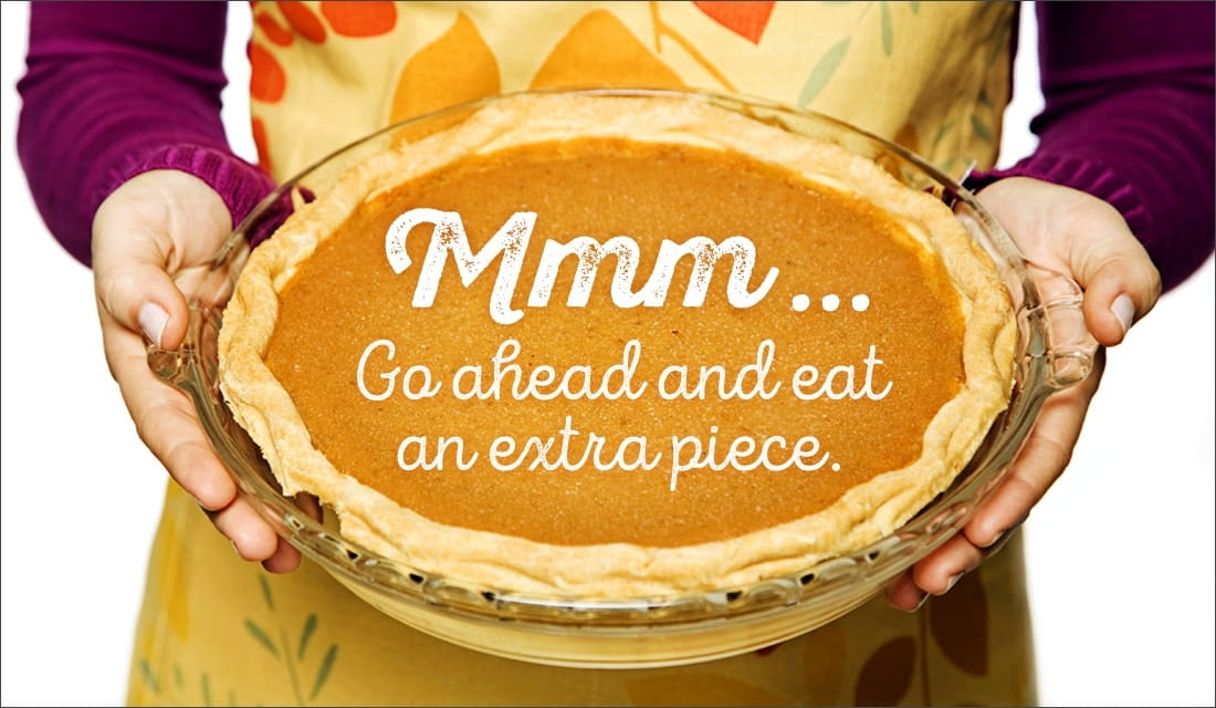 Mmm Extra Piece of Pie ecard, online card