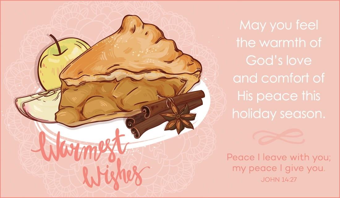 Warmest Wishes ecard, online card