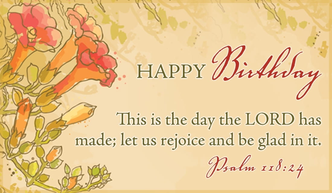 Free Psalm 118 24 Ecard Email Free Personalized Birthday