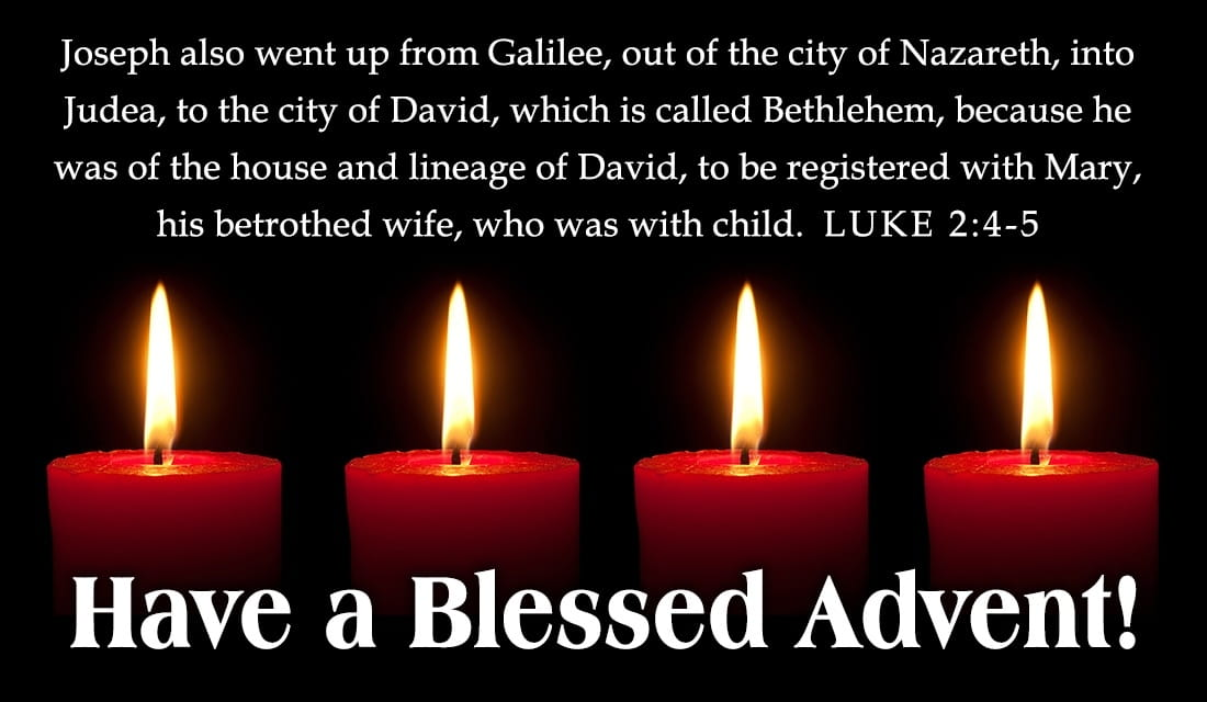 Blessed Advent ecard, online card