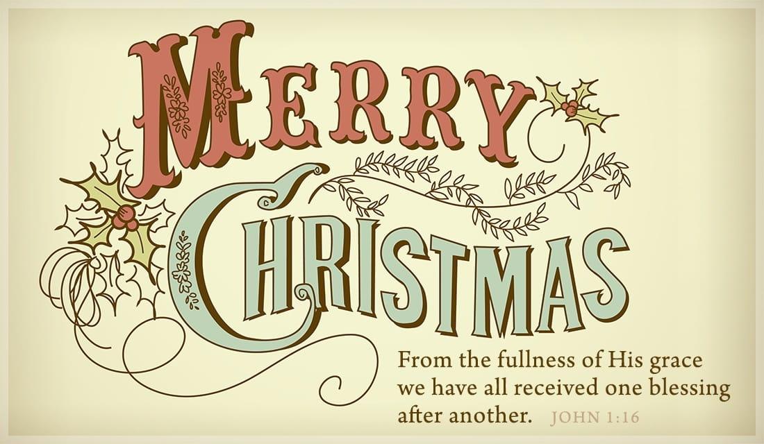 Merry Christmas ecard, online card