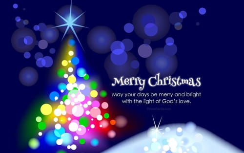 May Your Days Be Merry and Bright mobile phone wallpaper