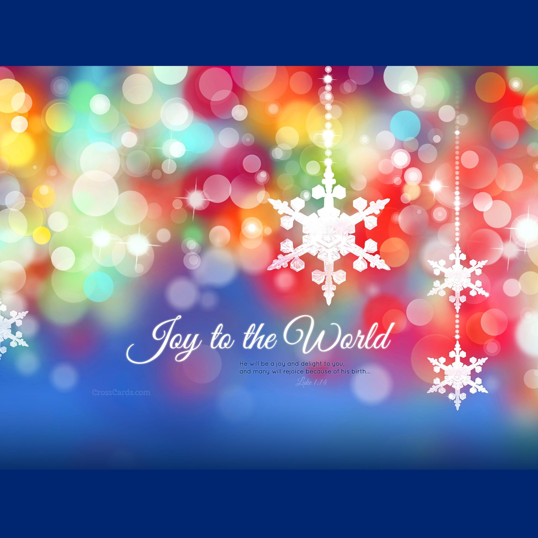 december 2015 - joy to the world desktop calendar- free december