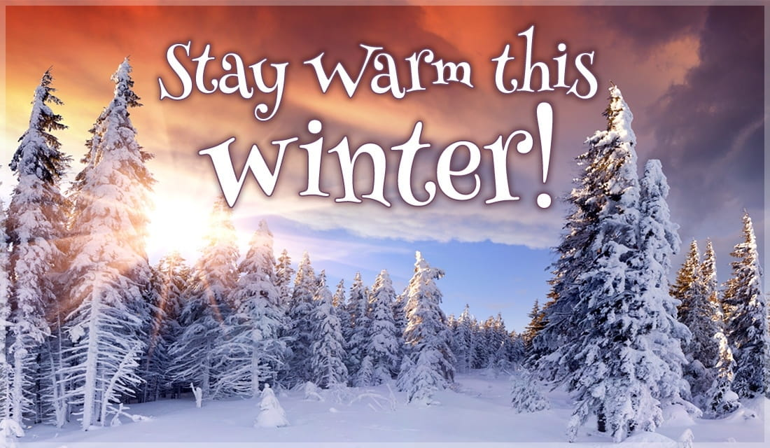 Stay Warm ecard, online card