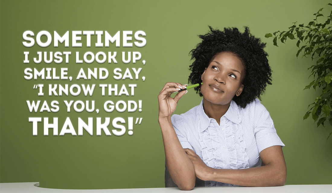 Sometimes, things are so amazing, I just KNOW that God is looking out for me ecard, online card