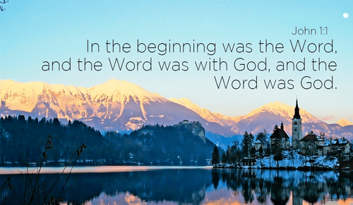 John 1 - NIV Bible - In the beginning was the Word, and the