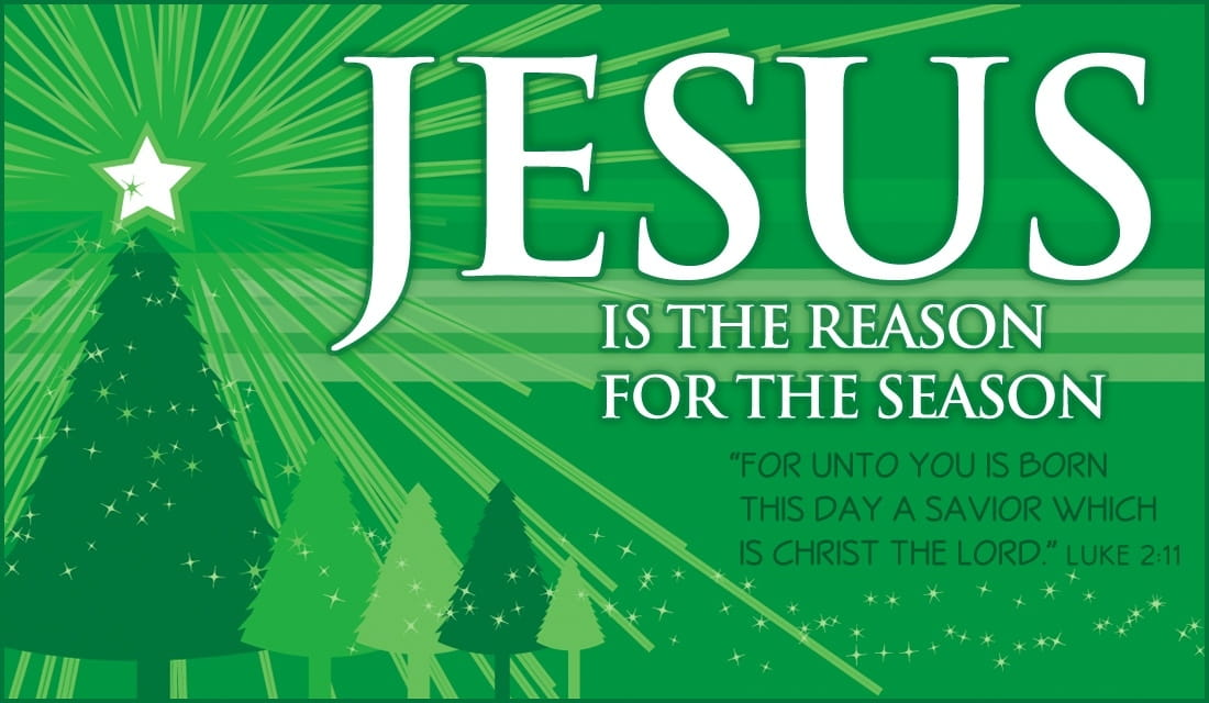 Jesus is the Reason eCard - Free Christmas Cards Online